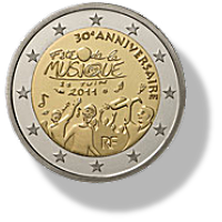 2 Euros Commémorative France 2011